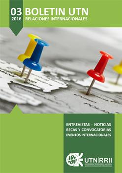 Descripción: UTN Boletín de la Secretaría de RRII de UTN